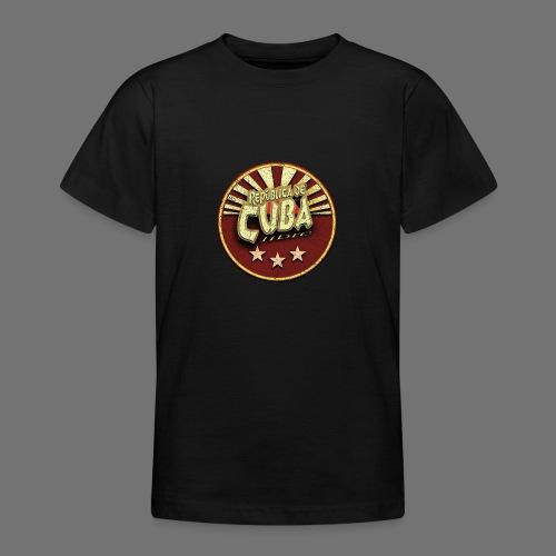Republica De Cuba Libre (oldstyle) - Teenager T-Shirt