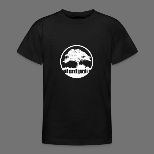 hiljainen puutarha (valkoinen) - Nuorten t-paita