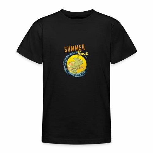 Chamäleon - Teenager T-Shirt