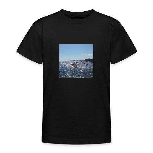Mer avec roches - T-shirt Ado
