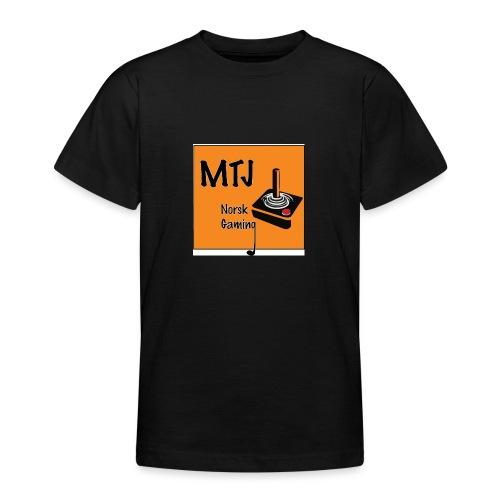 Mtj Logo - T-skjorte for tenåringer
