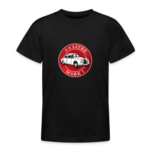 Jaguar 3.4 litre mk1 - Autonaut.com - Teenage T-Shirt