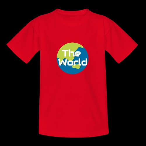 The World Earth - Teenager-T-shirt