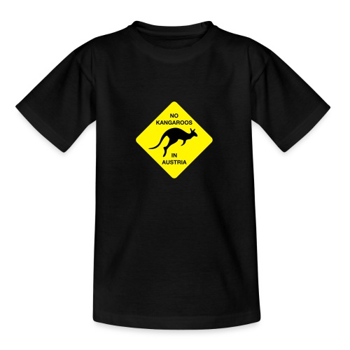 No Kangaroos in Austria - Teenager T-Shirt