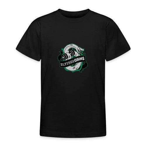 Hogweights Swolecraft Liftery Slythergains - Teenager T-Shirt