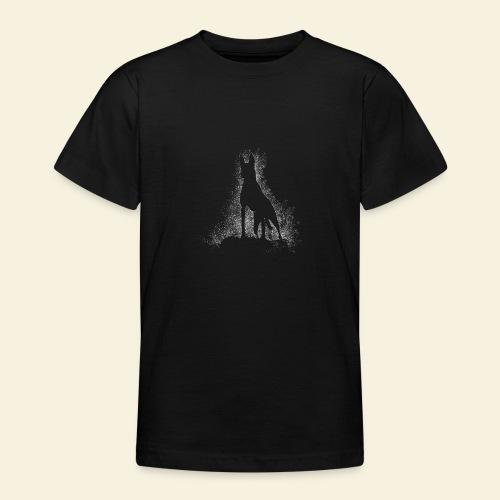 Dog Silhouette - Teenager T-Shirt