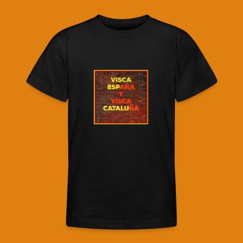 SPAIN AND CATALONIA - Teenage T-Shirt