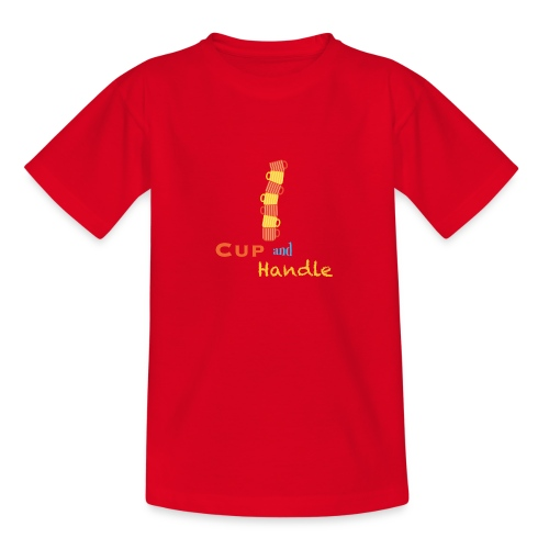 T-Shirt Cup and Handle Traders Stock Market Forex - Maglietta per ragazzi