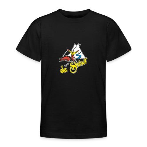 14787 fl tshirt logo skihut rotterdam - Teenager T-shirt