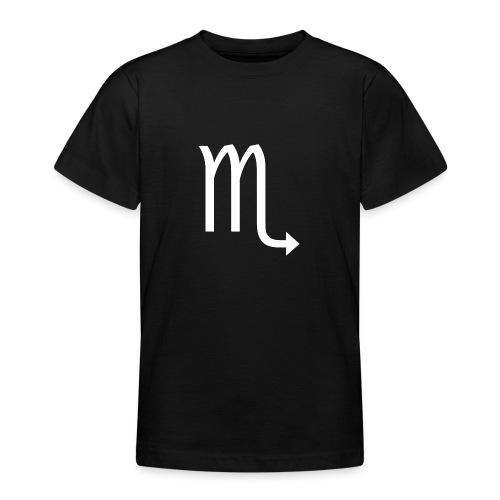Skorpion Sternzeichen - Teenager T-Shirt