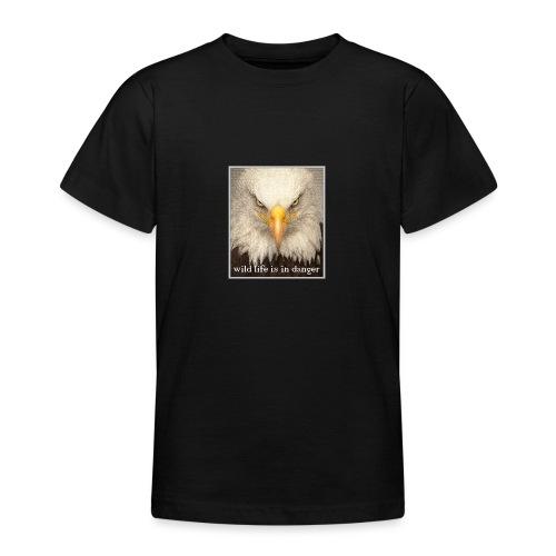 wild life is in danger shirt - Teenager T-Shirt