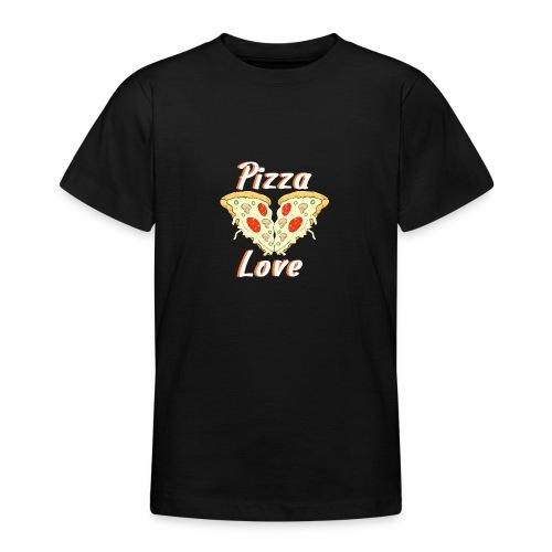 love to pizza - Camiseta adolescente
