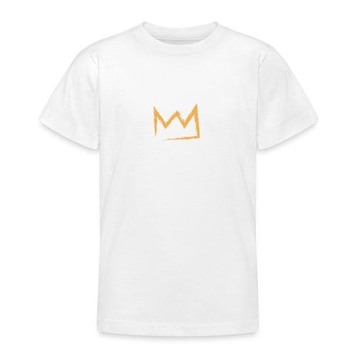 Baby mit Krone - Teenager T-Shirt