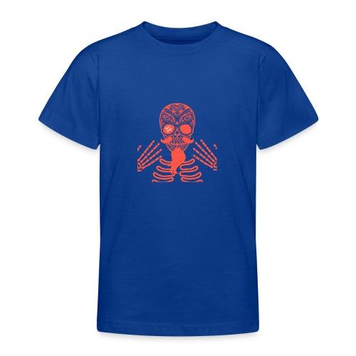Rockabilly Skull Barebone Collection - Teenager T-Shirt