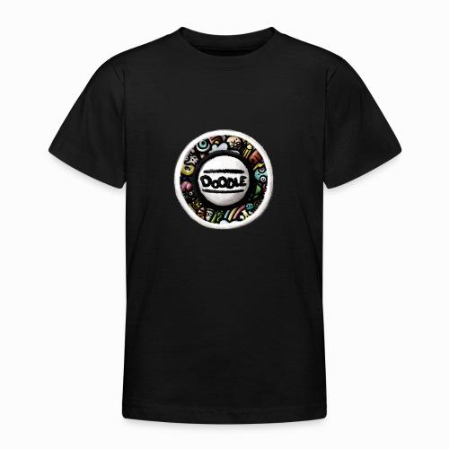 Sticker Doodle Art - T-shirt Ado