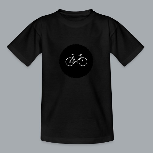 Bike Circle Vector - Teenager T-Shirt