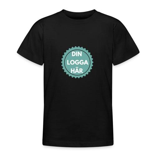 Egen Logga - T-shirt tonåring