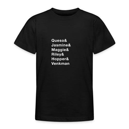 6 Dog Names - Teenage T-Shirt