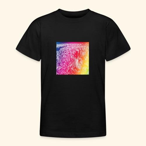 Manhattan arcobaleno - Maglietta per ragazzi