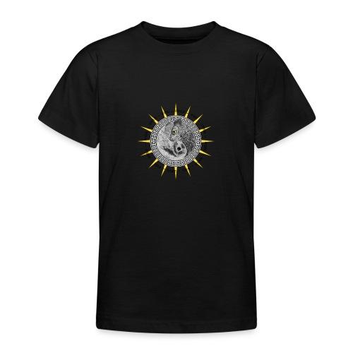 EULE OWL Yin Yang - Teenager T-Shirt
