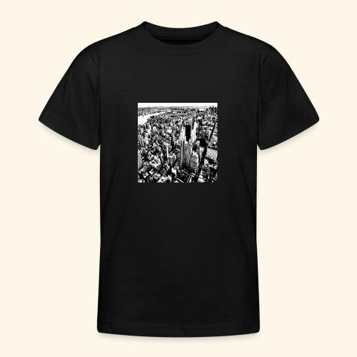 Manhattan in bianco e nero - Maglietta per ragazzi