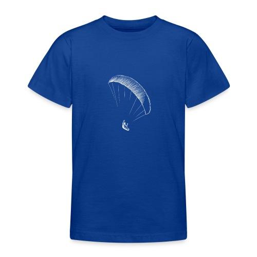 paraglider gerlitzen weiss - Teenager T-Shirt
