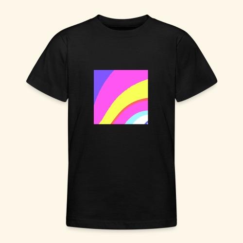 Curva colorata - Maglietta per ragazzi