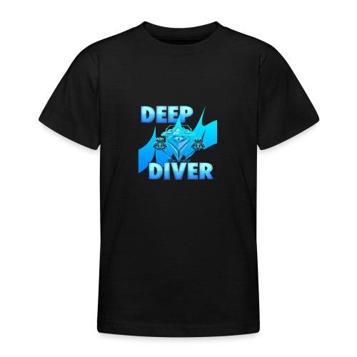 Deep Diver, Ocean Diamond. - Teenage T-Shirt