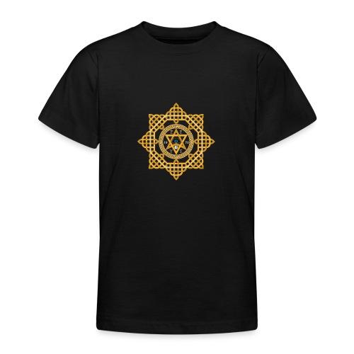 Hexagram ZEUS Mandala 1970 YinYang. 5. Dimension - Teenager T-Shirt