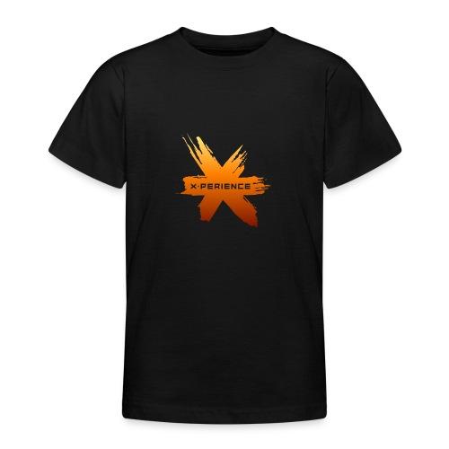 X-Perience Orange Logo - Teenager T-Shirt