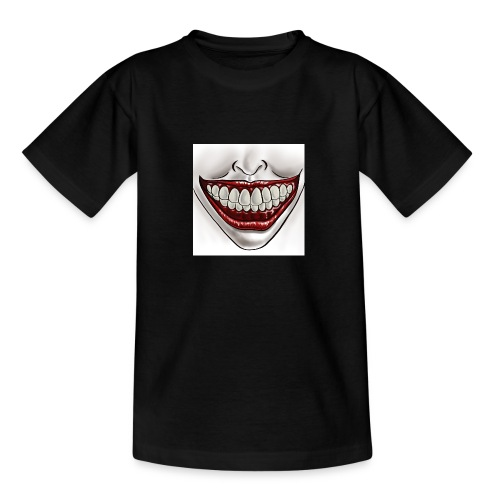 Smile Maske - Teenager T-Shirt