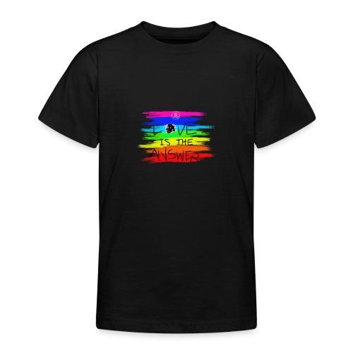 LoveIsTheAnswer MaitriYoga - T-shirt Ado