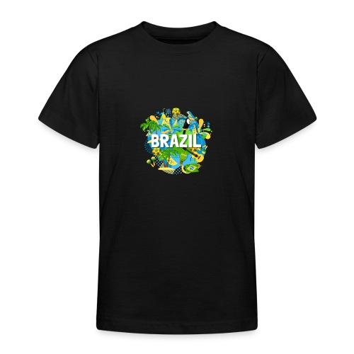 Encontro Brasil - Teenage T-Shirt