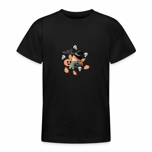Halloween Hexe - Teenager T-Shirt