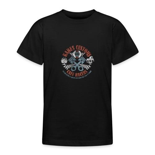 Kabes Cafe Racers T-Shirt - Teenage T-Shirt