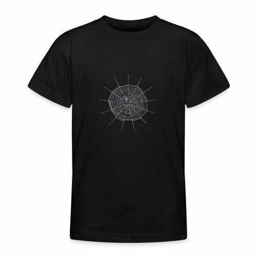Spinnennetz - Teenager T-Shirt