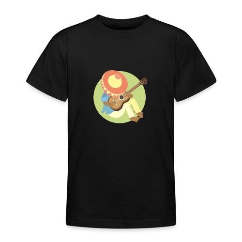 Gitarre spielen - Teenager T-Shirt