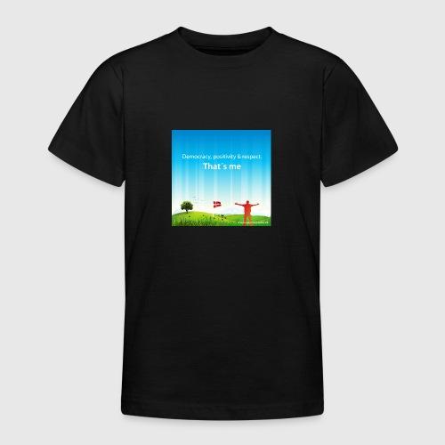 Rolling hills tshirt - Teenager-T-shirt