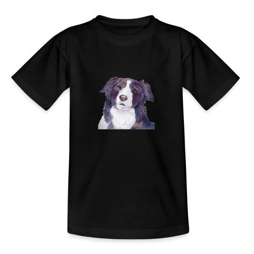 bordercollie color - Teenager-T-shirt