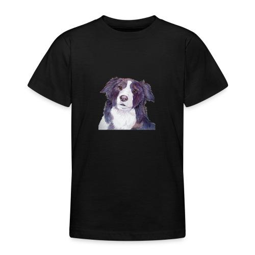 bordercollie coloristic - Teenager-T-shirt
