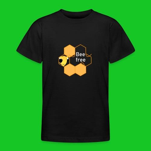 Bee Free - Teenager T-shirt