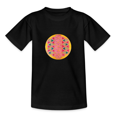 Blume des Lebens - Teenager T-Shirt