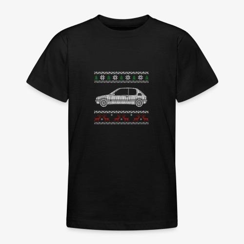 205 gti pull tricot noel - T-shirt Ado
