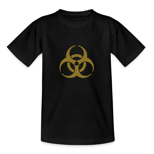 Biohazard symbol - Teenage T-Shirt
