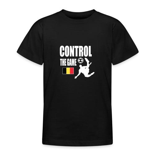 Control The Game Belgium - Teenager T-shirt