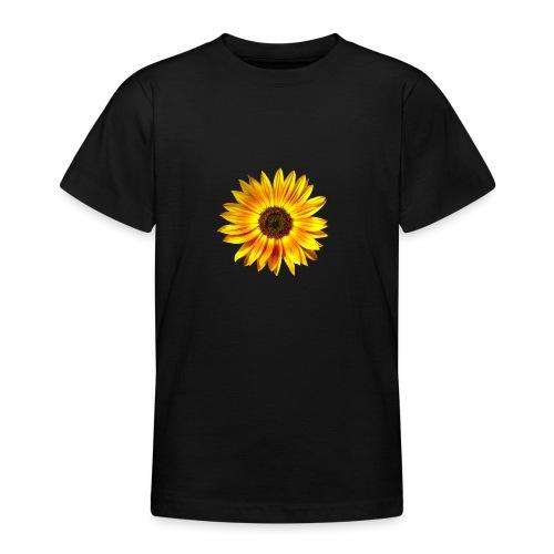 Sonnenblume gelb Sommer - Teenager T-Shirt