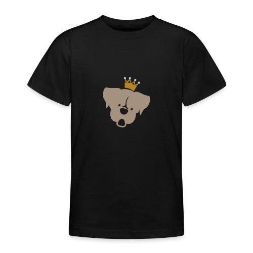Prinz Poldi braun - Teenager T-Shirt