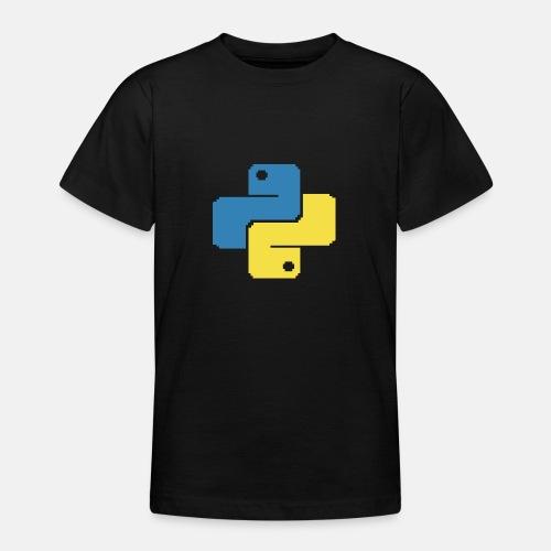 Python Pixelart - Teenage T-Shirt