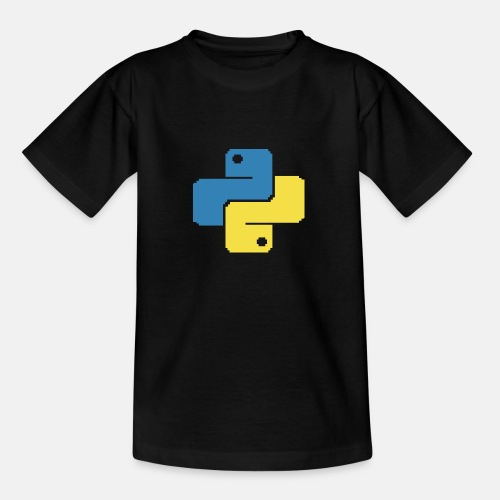 Python Pixelart - Teenager T-Shirt
