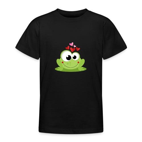 Frog In Love - Camiseta adolescente